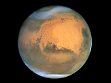 Mars pohldem Hubbleova teleskopu
