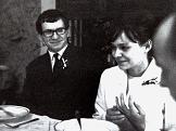 Svatba Věry Jirousové a Ivana Jirouse, 1966 (foto: Jan Ságl)