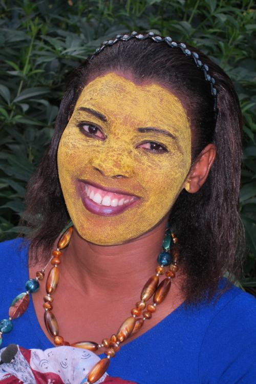petite indický tvář