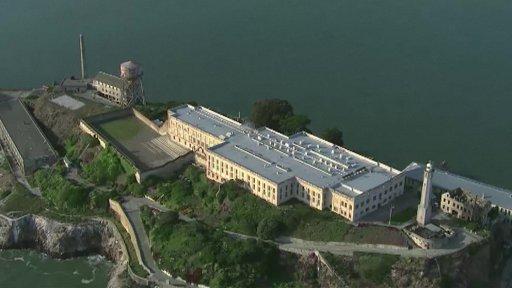 Basket za zdmi Alcatrazu