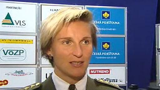 Armádní sportovec roku 2012