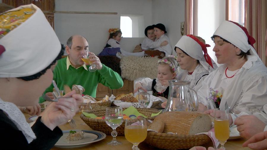 fotka z natáčení dílu o Velikonocích, autor: Česká televize