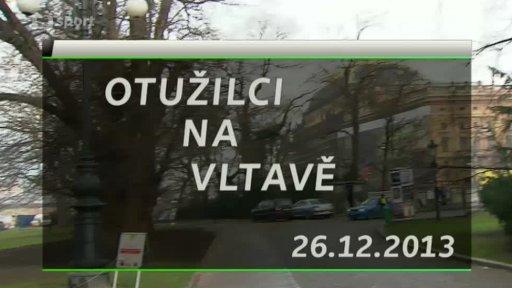 Otužilci na Vltavě
