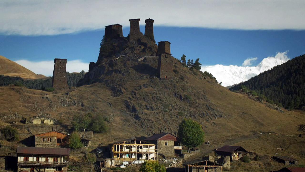Krajina kamenných věží