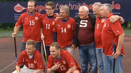 Setkání fotbalových a hokejových legend