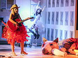 Divadlo X10, Den bez Rus�ka, foto: Dita Havr�nkov�
