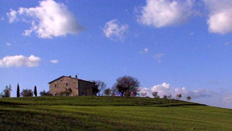 Toskánský venkov
