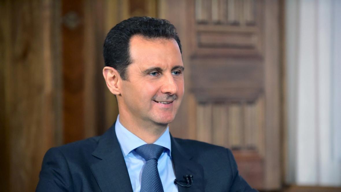 Mimořádné pořady ČT24: Rozhovor s Bašárem Asadem