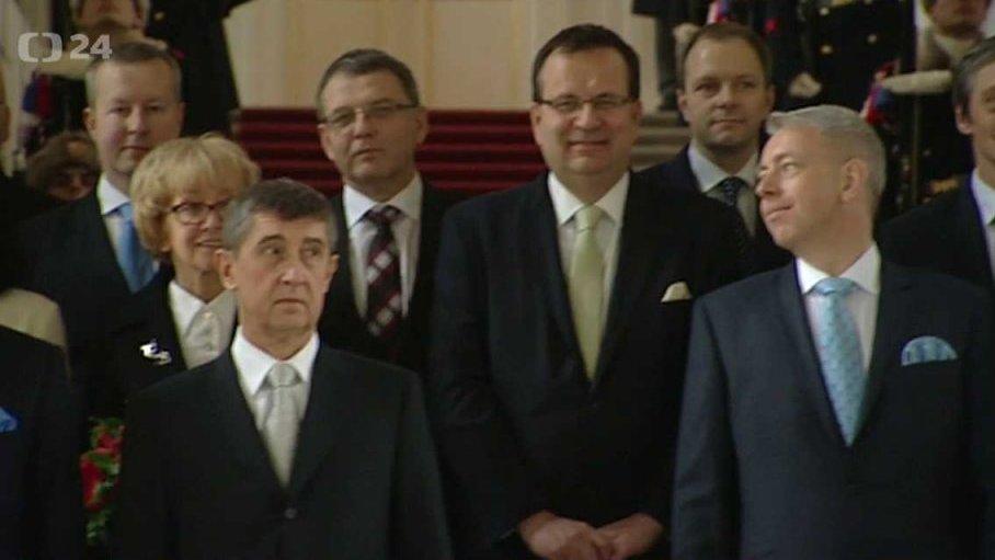 Mimořádné pořady ČT24: Prezident Miloš Zeman jmenuje předsedu hnutí ANO Andreje Babiše premiérem