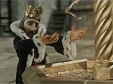 Král a skřítek