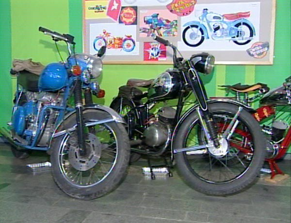 Výstava starých motocyklů