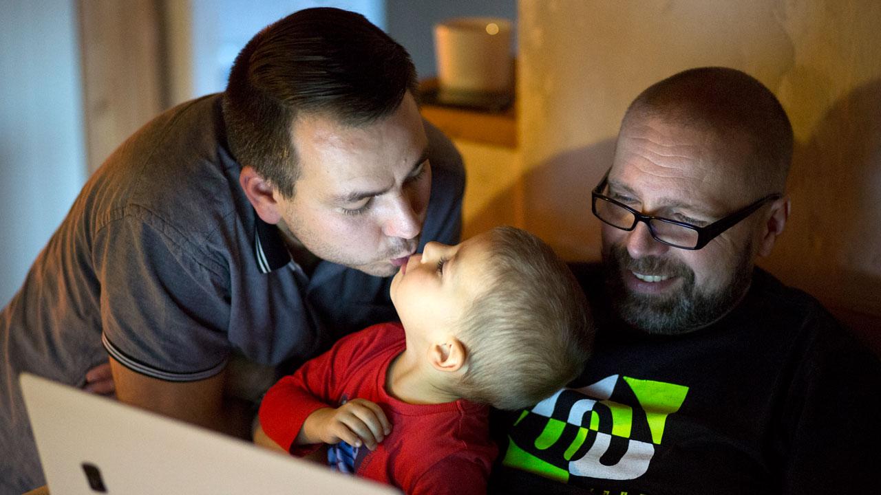 Rodiče napořád: Petr a Petr