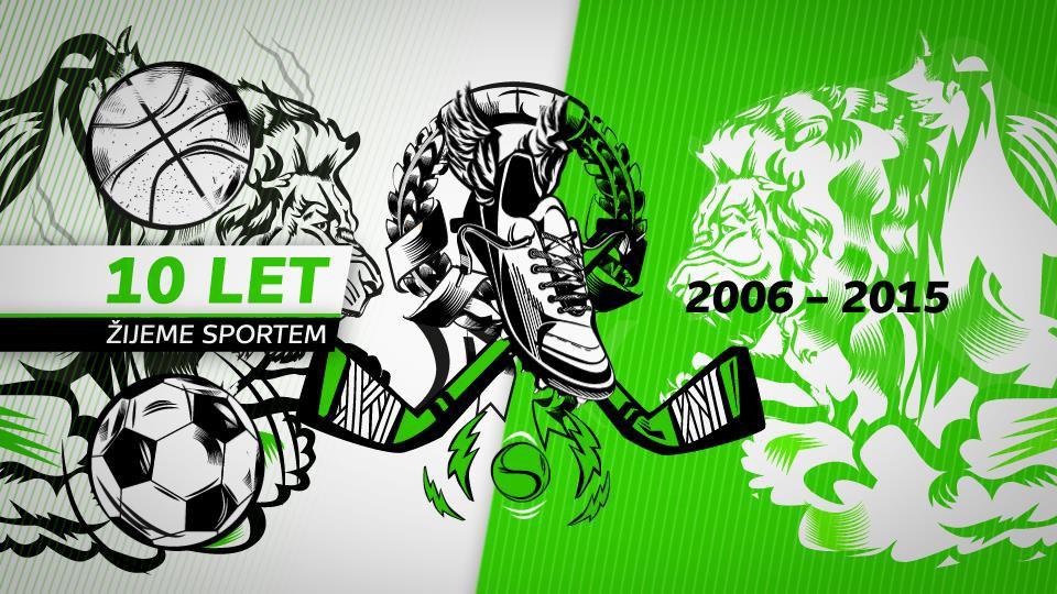 10 let ČT sport