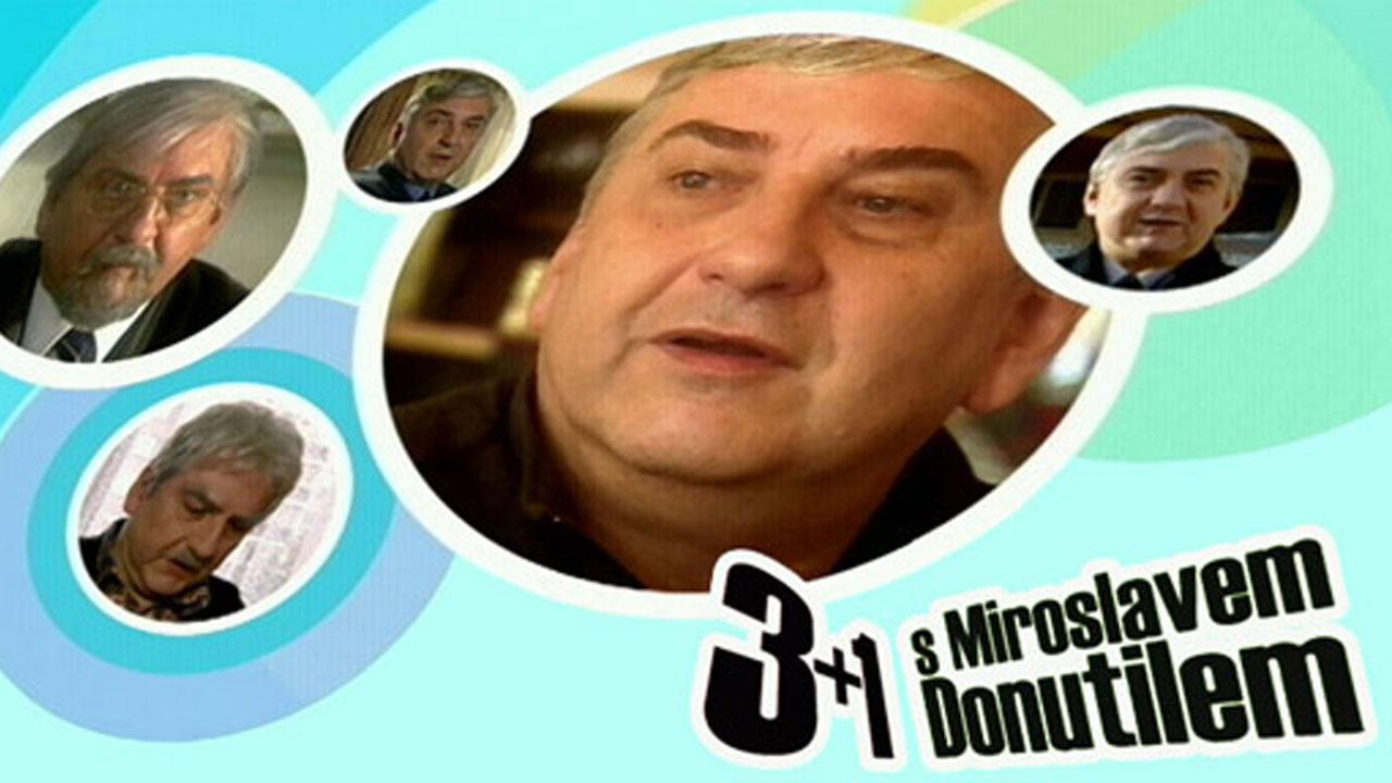 3 plus 1 s Miroslavem Donutilem: Otcové a dcery