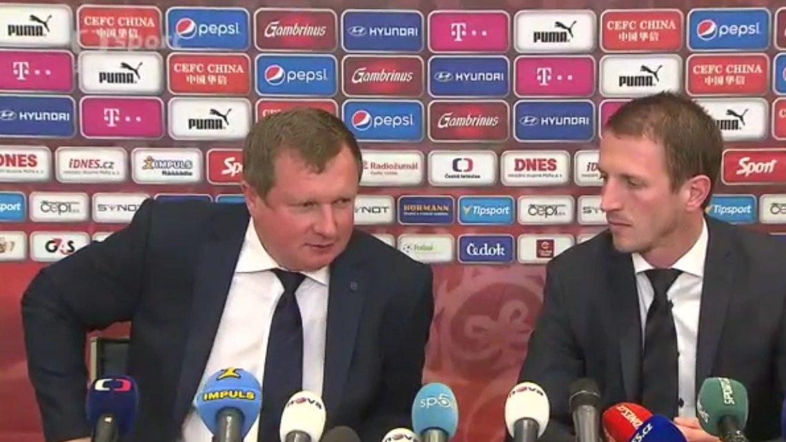 Tisková konference k nominaci na EURO 2016