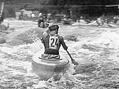 Vodní slalom u loučovické papírny v roce 1959
