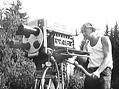 Vodácké závody podLipnem mohli vpřímém přenosu sledovat idiváci tehdejší ČST (1967)