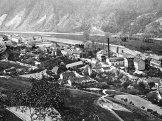 Vrané nad Vltavou nadobové pohlednici (asi1918)
