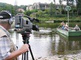 Za našeho natáčení upřívozu veVraném nadVltavou (2004)