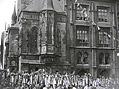 Osmý slet všesokolský (1926). Tak vypadala Staroměstská radnice do 8. května 1945.
