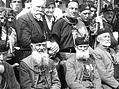 Osmý slet všesokolský (1926). Pamětníci založení Sokola.