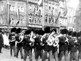 Hold císaři Františku Josefovi na Staroměstském náměstí 15.srpna 1915