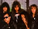 Queensrÿche, vpředu zleva Geoff Tate a Chris DeGarmo, vzadu Eddie Jackson, Michael Wilton a Scott Rockenfield, cca 2. pol. 80. let