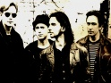 Depeche Mode, zleva Andy Fletcher, Martin Gore, Dave Gahan, Alan Wilder, cca 1993