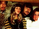 "The Mamas & The Papas, zleva John Phillips, Michelle Gilliam, Denny Doherty a ""Mama"" Cass Elliot, 1967"