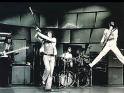 The Who live, zleva John Entwistle, Roger Daltrey, Keith Moon a Pete Townshend, 1. pol. 70. let