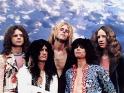Aerosmith, zleva Joey Kramer, Joe Perry, Tom Hamilton, Steven Tyler, Brad Whitford, cca 1973