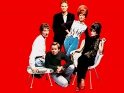 The B-52´s, zleva Fred Schneider, Ricky Wilson, Keith Strickland, Kate Pierson, Cindy Wilson, 1980