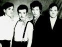 Ultravox, zleva Chris Cross, Midge Ure, Warren Cann, Billy Currie, cca 1980