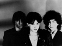 The Cure, zleva Michael Dempsey, Robert Smith a Lol Tolhurst,  1979