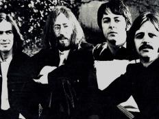 The Beatles, zleva George Harrison, John Lennon, Paul McCartney, Ringo Starr, 1969