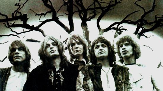 Yes, zleva Steve Howe, Tony Kaye, Chris Squire, Jon Anderson a Bill Bruford, 1971