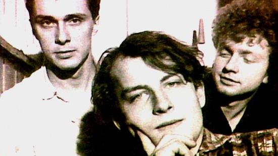 Psí vojáci (zleva David Skála, Filip Topol, Jan Hazuka, 1985-6)