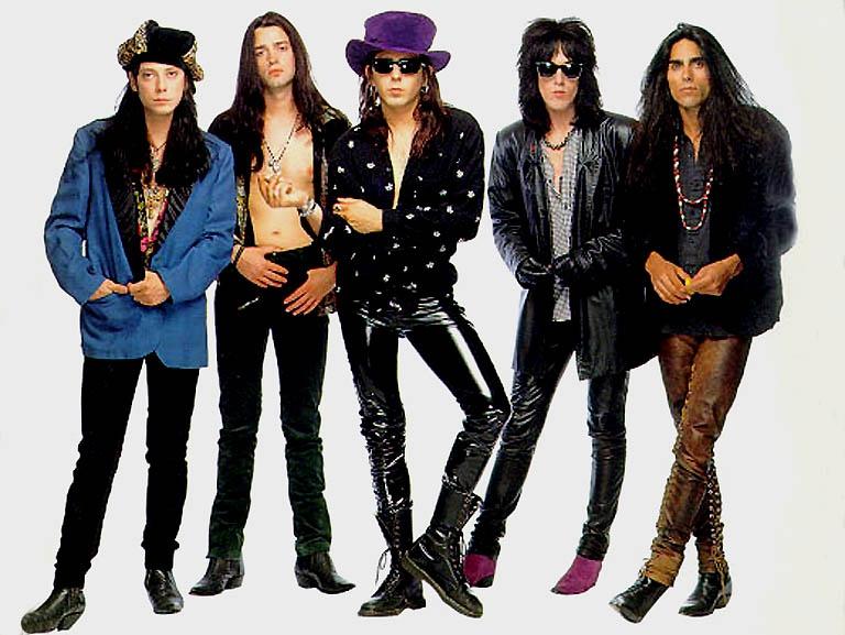 Glam rock fashion