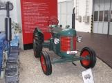 Traktor na výstavce