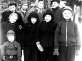 Zimní oblečení r. 1959