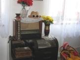 Starý gramofon s rádiem