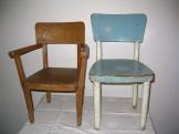Dětské židličky z roku 1950