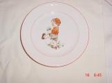 Dětský talířek z roku 1953