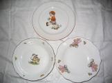 Dětské talířky