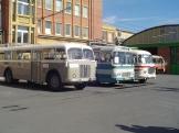 Tři generace autobusů Škoda: 706 RO, 706 RTO a ŠL 11 Karosa