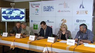 Tisková konference - Global Games 2009