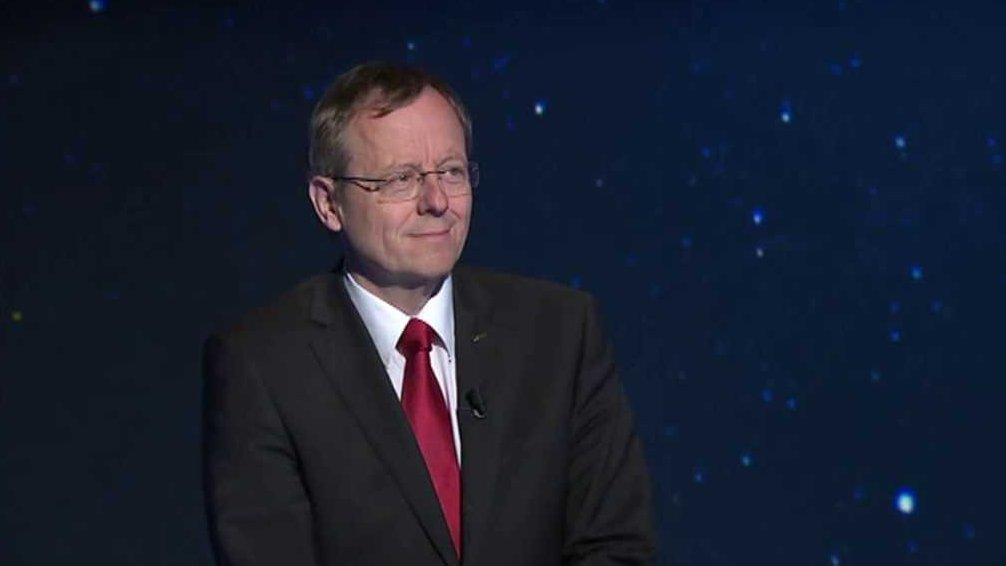 Johann-Dietrich Wörner, director general of European Space Agency