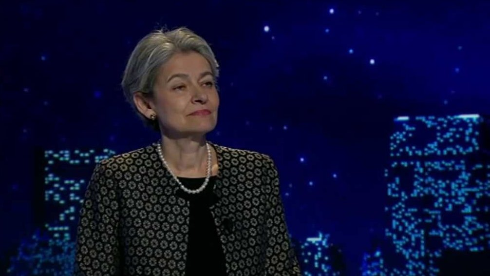 Irina Bokova, director-general of UNESCO