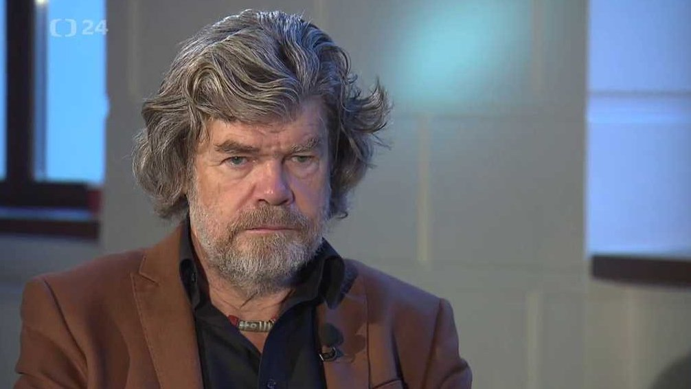 Reinhold Messner, mountaineer, adventurer