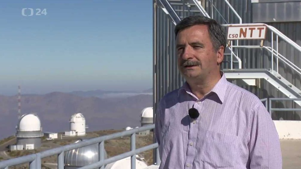 Interview with Fernando Comerón, ESO representative in Chile